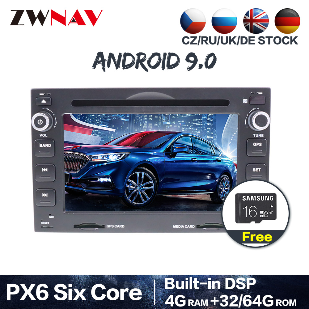 Android 9.0 Car Multimedia player <font><b>for</b></font> <font><b>Peugeot</b></font> 307 2002-2010 <font><b>for</b></font> <font><b>Peugeot</b></font> 207 <font><b>3008</b></font> 2009-2011 Radio stereo head unit free <font><b>GPS</b></font> map image