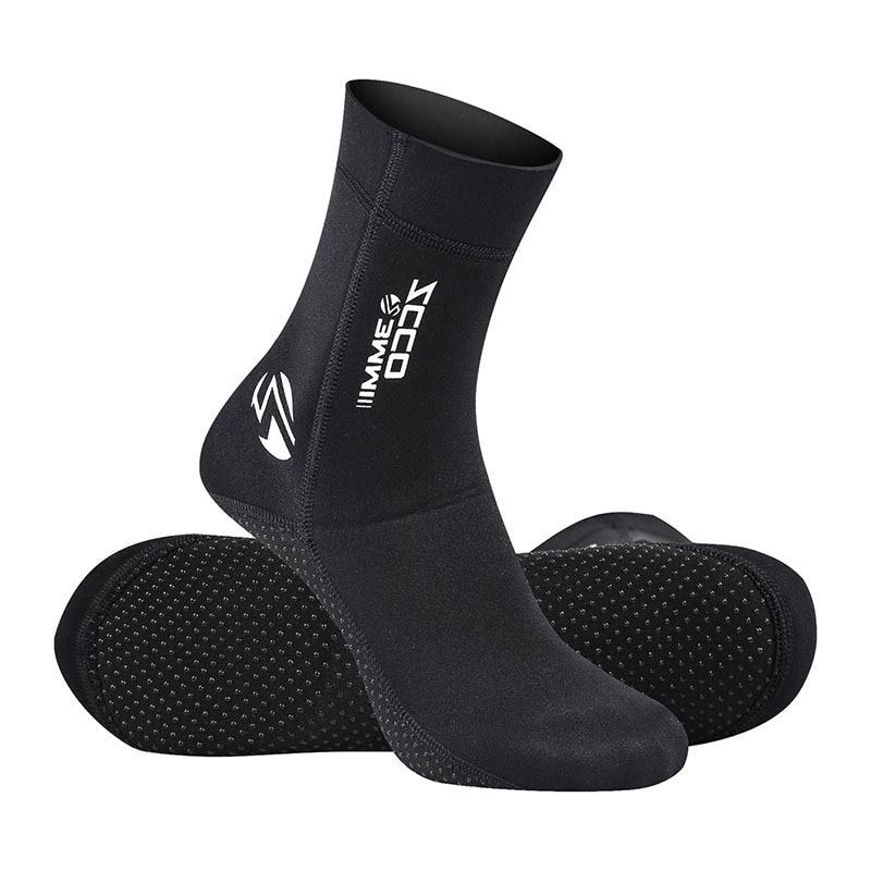 Неопреновые носки для дайвинга 3 мм, ботинки, водонепроницаемая обувь, Нескользящие пляжные ботинки, обувь для Гидрокостюма, ботинки для дай...