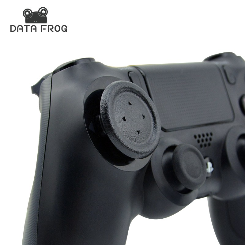 Newest Custom 2 Pcs Flat Directional Removable D-Pad Buttons Caps For Sony Playstation Dualshock 4 PS4 Controller Joystick Gamer