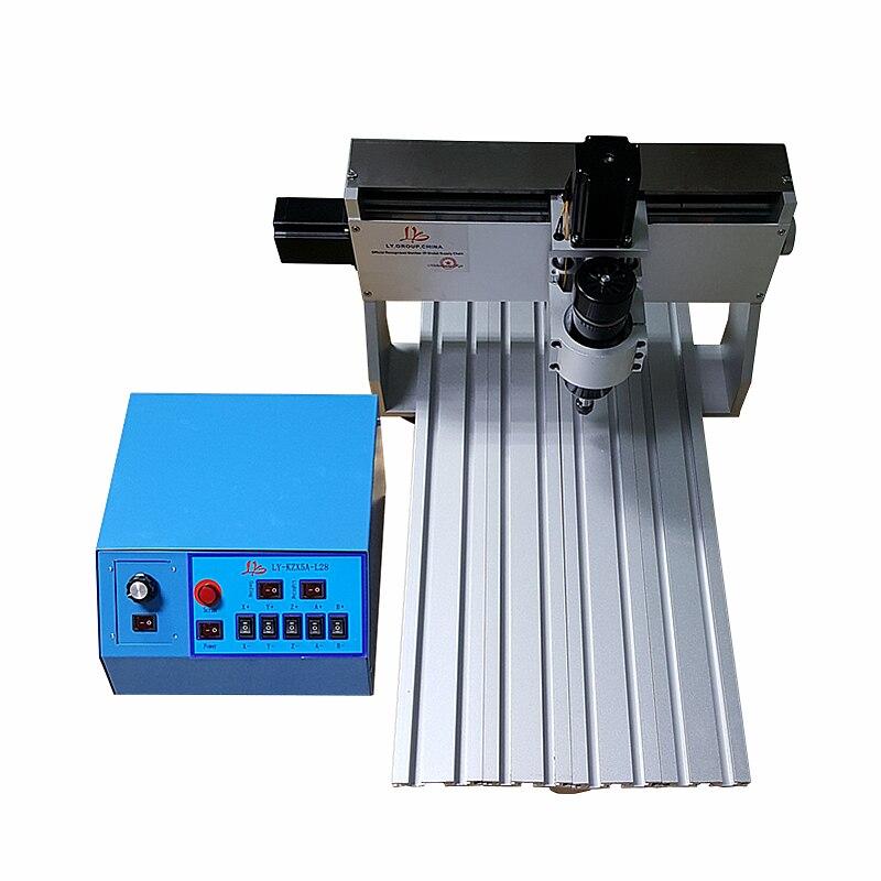 Bricolage CNC machine de gravure 3040 500W DC broche 3 axes bois CNC routeur 3D
