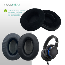 NULLKEAI Replacement Earpads For ATH M50x, ATH M50xBT, ATH M40x, ATH M30x, ATH M20x, ATH M70x, ATH MSR7 Upgraded Comfy Cushion