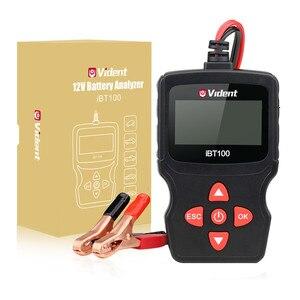 Image 5 - Vident iBT100 12V Analizador de batería para inundados, AGM,GEL 100 1100CCA herramienta de diagnóstico de probador automotriz