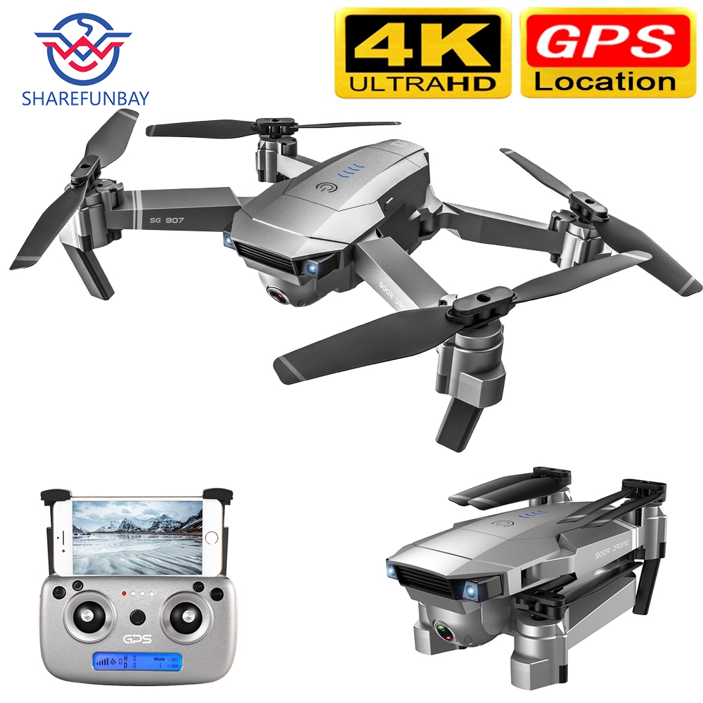 Дрон SG907 Дрон HD gps 4K 1080P 5G wifi Двойная камера электронный анти встряхивание 50x зум Квадрокоптер Дрон с камерой VS E520S Дрон квадракоптер с камерой ...