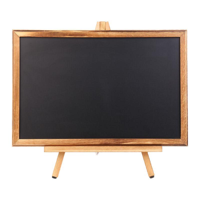 Desktop Memo Message Blackboard Easel Chalkboard Bracket Sketchpad Kids Writing School Office Supplies C26