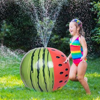 Inflatable PVC Water Spray Beach Ball for Outdoor Lawn Summer Game Children's Toy Jet - discount item  30% OFF Outdoor Fun & Sports
