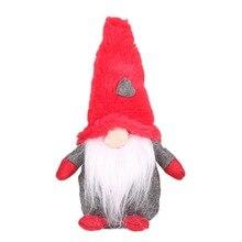 Handmade Swedish Tomte Christmas Decoration Santa Claus Scandinavian Plush Gnome Plush-Christmas Gift Birthday Present