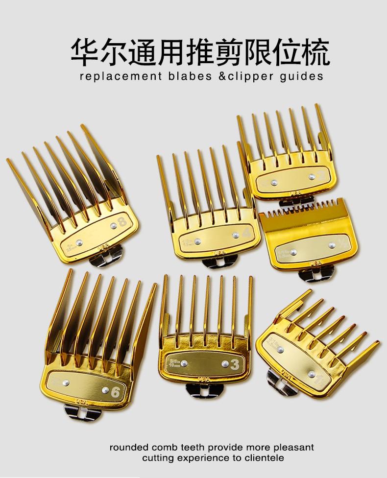 Hair Clipper Guide Comb Set fit wahl cordless clip 8148