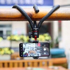 Image 5 - Штатив Осьминог Ulanzi для смартфона, DSLR, SLR, Vlog, 2 в 1, переносной штатив с удлинителем 1/4 дюйма для Magic Arm