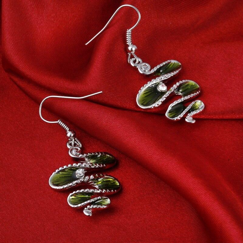 MINHIN Classic Jewelry Set Fashion Spiral Design Antique Pendant Rope Necklace Sets Wholesale Charm Jewelry Set