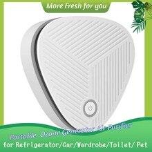Home Air Purifier Mini Ozone Generator Portable Car Ozon Disinfect Machine Sterilization Decompose Formaldehyde Removing Odors