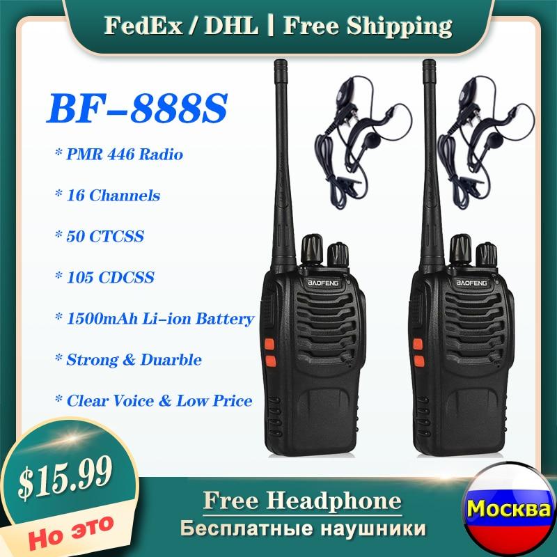 """Baofeng BF-888S PMR446 иди и болтай Walkie Talkie """"иди и Портативный радиостанция трансивер 888S 5 Вт UHF 400-470 МГц Ham портативная приёмопередаточная радиоустано..."""