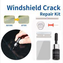 Car Windshield Repair Kit Quick Car Crack Windscreen Repair Tools Scratch Restore Liquid DIY Auto Window Screen Car Accessories