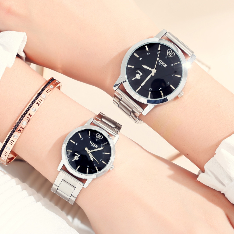 Top Luxury Splendid Original Wristwatch Men Women Lover's Watch Casual Fashion Steel Watches Valentine's Unisex Relojes Saat