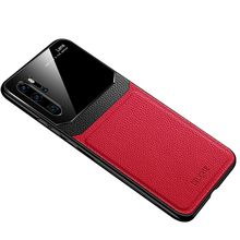 case for huawei p30 lite leather phone pro Acrylic glass anti-fall pu
