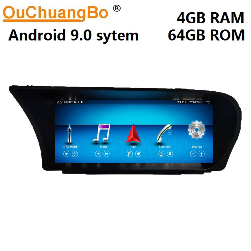 Ouchuangbo car multimedia gps radio for <font><b>Benz</b></font> S Class W221 W216 S250 S300 S350 S500 S600 <font><b>Android</b></font> 9.0 stereo <font><b>10.25</b></font> <font><b>inch</b></font> 4GB+64GB image
