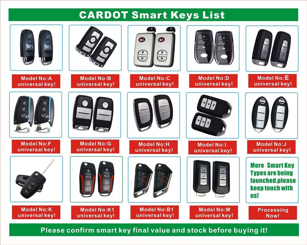 Cardot Smart Key Only Works Cardot Smart Car Alarm
