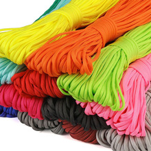 5 Meters Dia4mm 7 stand Cores Paracord for Survival Parachute Cord Lanyard Camping Climbing Camping Rope Hiking Clothesline
