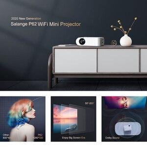Image 5 - Salange P62 جهاز عرض صغير للأفلام في الهواء الطلق ، ودعم 1080P كامل HD Projetor المسرح المنزلي 2800 لومينز Proyector فيديو متعاطي المخدرات