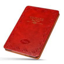 For iPad mini1 2 3 Vintage Leather Case Waterproof Retro Print Tablet Case Flip Stand Smart Cover for Apple iPad mini4 mini5