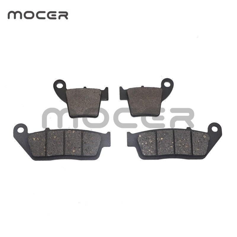 Передние и задние тормозные колодки мотоцикла для Honda CRF250 R/X (04-15)/CRF450 (02-15) CRF250R CRF250X CRF450R CRF450X