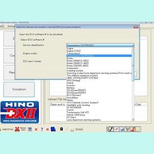 Image 4 - 2020 עבור Hino אבחון EXplorer 2 עבור Hino DX2 v1.1.20.8 + והמעורער מסד הנתונים + סדק Activator