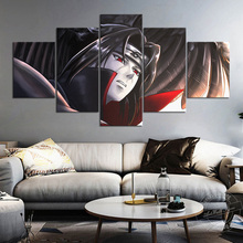 Anime Naruto Itachi HD Pictures for Living Room Decor Sharingan Poster Cartoon Painting Wall Art Canvas Painting Birthday Gifts cartoon anime naruto poster painting nordic style prints modern wall art canvas painting wall pictures for living room decor