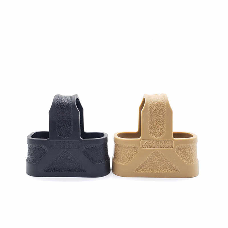 Tactische 5.56 Navo Cage Fast Mag Rubber Loops Voor Airsoft Gun M4/16 Magazine Assist Magazine Pouch Army Accessoires