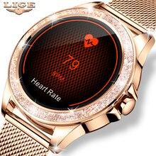 2021 moda relógio inteligente mulher esporte relógio à prova dwaterproof água monitor de freqüência cardíaca sono para iphone chamada lembrete bluetooth smartwatch