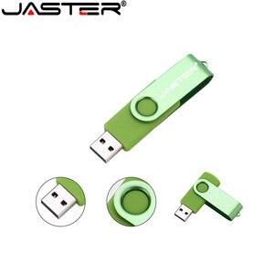 Image 2 - 100% di capienza reale di plastica pen drive 4GB 8GB 16GB 32GB scheda di Memoria usb della Parte Girevole flash drive pendrive bastone di memoria USB creativo