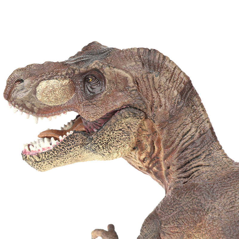 Popular modelo de Tiranosaurio del Mundo Jurásico dinosaurio de juguete de plástico sólido tipo Dinossauro PVC figura de acción regalos dinosaurio