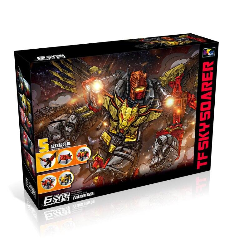 G1 transformación predaking 5IN1 Set divebomba Rampage gran tamaño guerra águila modo acción figura Robot Juguetes-in Figuras de juguete y acción from Juguetes y pasatiempos    1