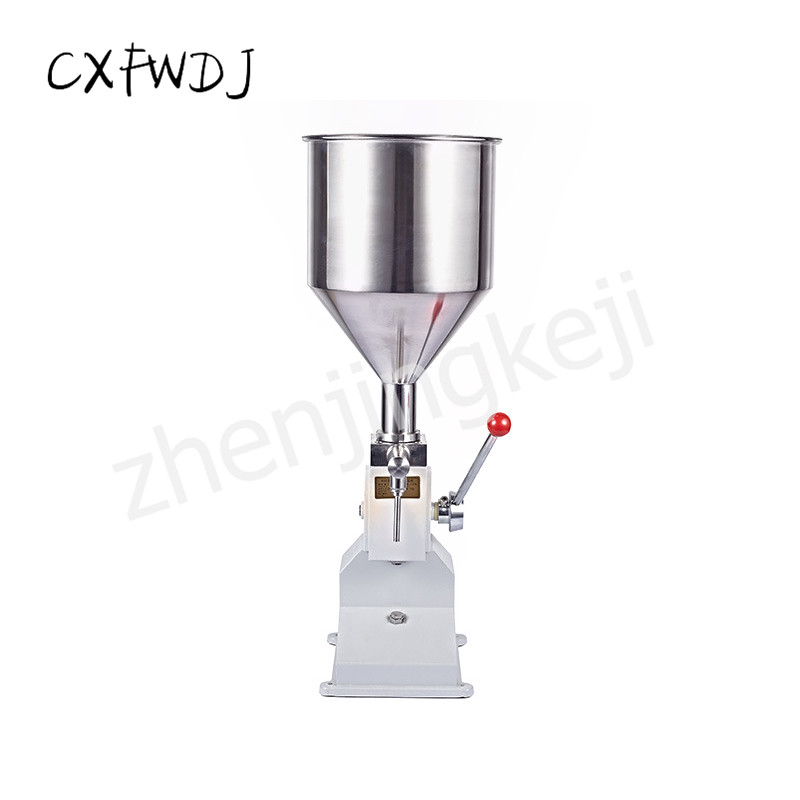 A03 Manual Paste filling Machine Cosmetic Quantitative liquid
