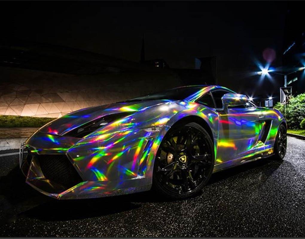 3D виниловая пленка из углеродного волокна, наклейки для автомобиля, рулонная пленка, наклейки для автомобиля и наклейки, Стайлинг автомобил... - 4