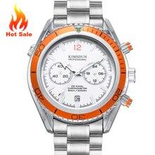 HOT SALE Men's Chronograph Quartz Watches Stainless Steel Wa