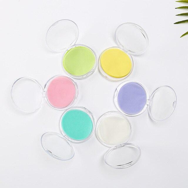 50pcs/set Portable Disposable Rose Flower Sea Salt Bath Paper Soap Hand-washing Soap With Soap Box