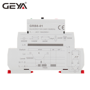 Image 5 - Free Shipping GEYA GRB8 01 Twilight Switch with Sensor AC110V 240V  Photoelectric Timer Light Sensor Relay