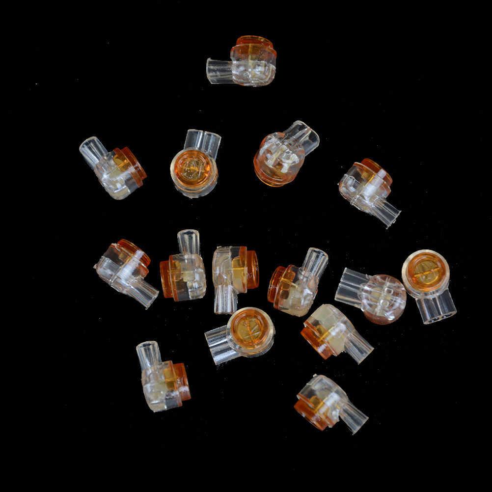 מחבר עמיד למים חיווט Ethernet כבל טלפון כבל מסופי 50pcs Rj45 מחבר מלחץ מסופי חיבור K1