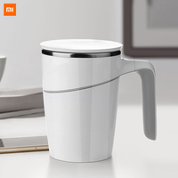 Xiaomi Fiu 470ml tasse à ne pas verser tasse à eau intelligente Innovation ventouse magique antidérapant ABS Double isolation 304 inoxydable Original