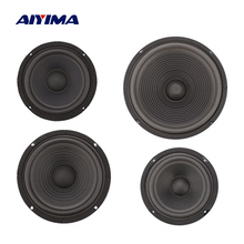 AIYIMA 2Pcs Woofer Speaker Passive Radiator Bass Boost Auxiliary Diaphragm Radiator Rubber Vibration Membrane 5/6/8/10 Inch