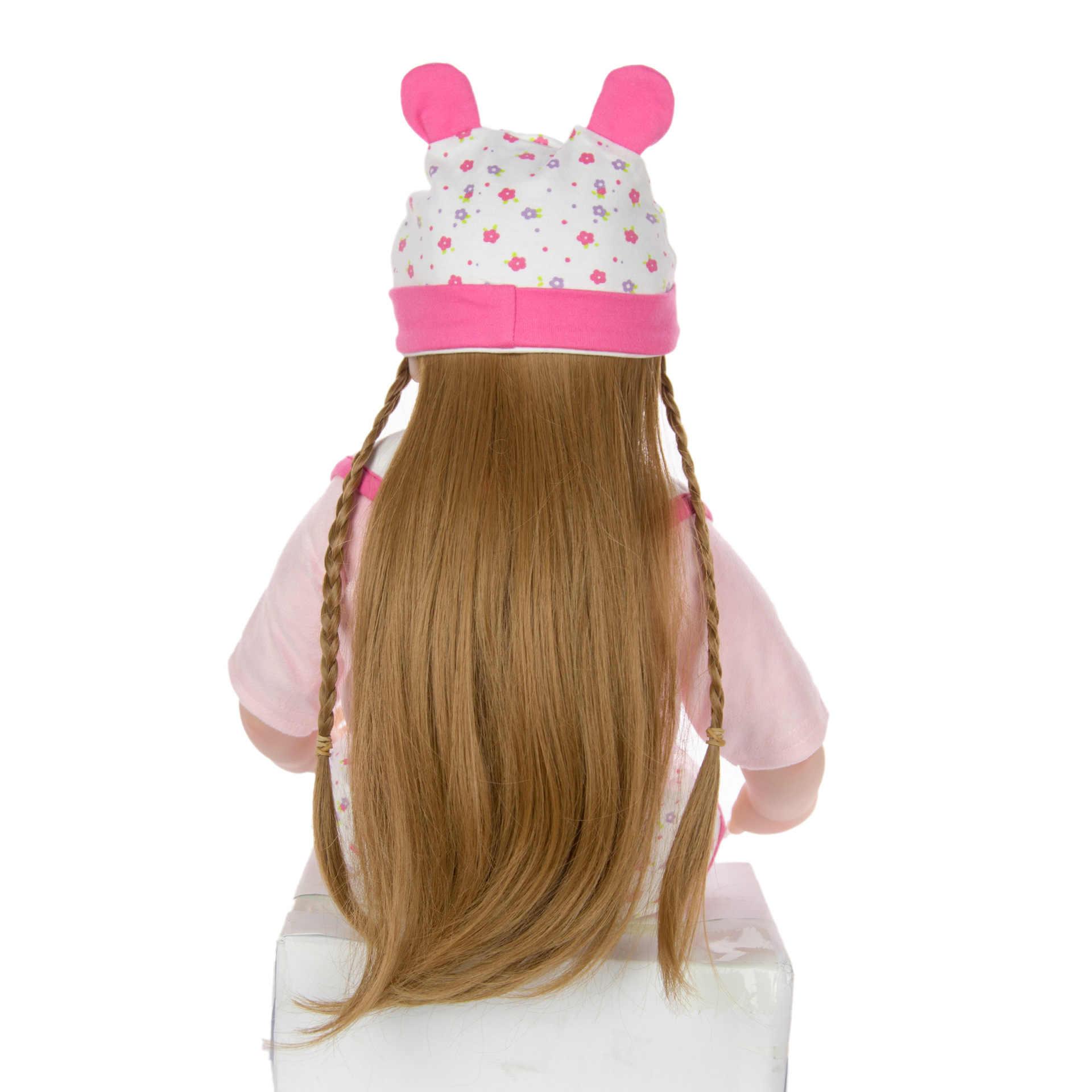 24 дюймовые куклы Reborn 60 см мягкие силиконовые реалистичные для принцессы для девочки кукла для продажи bebes кукла-реборн младенец игрушка детский подарок на день рождения