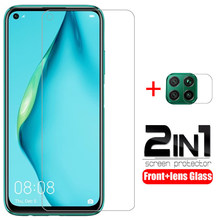 case for huawei p40 lite e 5g p30 light cover tempered glass screen protector camera lens protective film on p 30 40 phone coque(China)