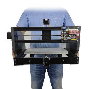 Laser Engraver 3 Axis PCB Milling Machine Wood Router CNC3018 Pro Max Laser Engraver Work Offline Bakelite Machine DIY Free