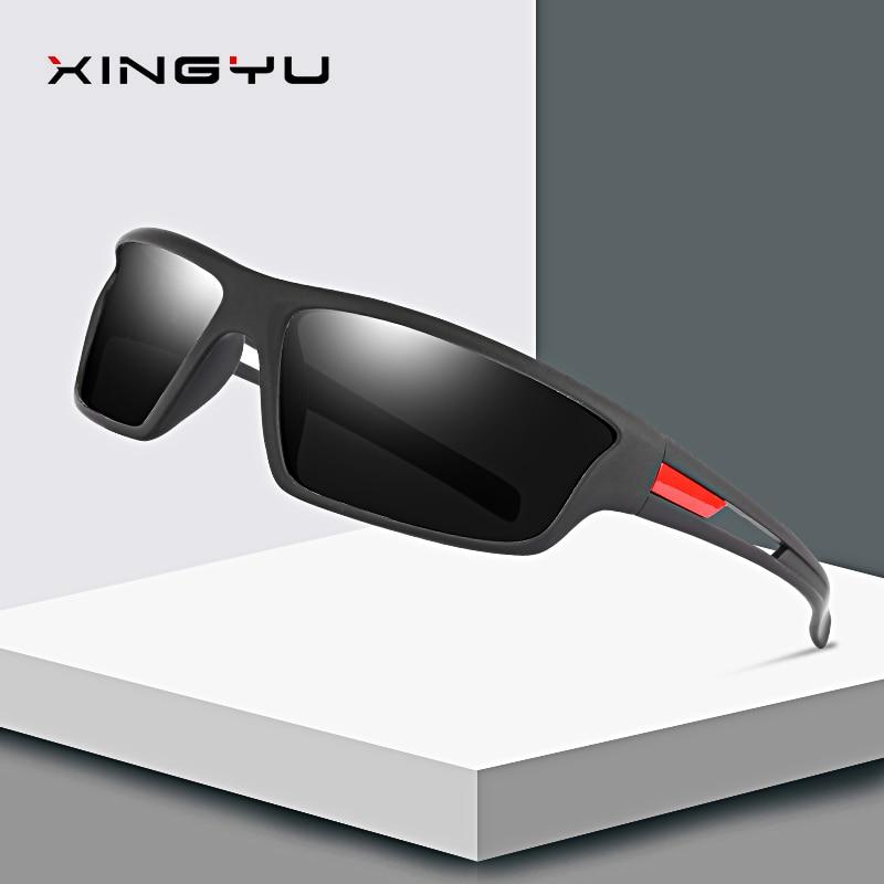 XINGYU Design Men Polarized Outdoor Sports Sunglasses Male Goggles Glasses For Fishing UV400 Protection okulary przeciwsłoneczne