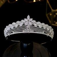 Simple Wedding Hair Accessories Bride Tiaras Crystal Crown Hair Accessories Wedding Dress Accessories A00604