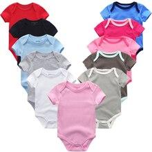 Girl Romper Jumpsuit-Set Bodysuit Spring Infant Clothes Baby Unisex Newborn Cotton Summer