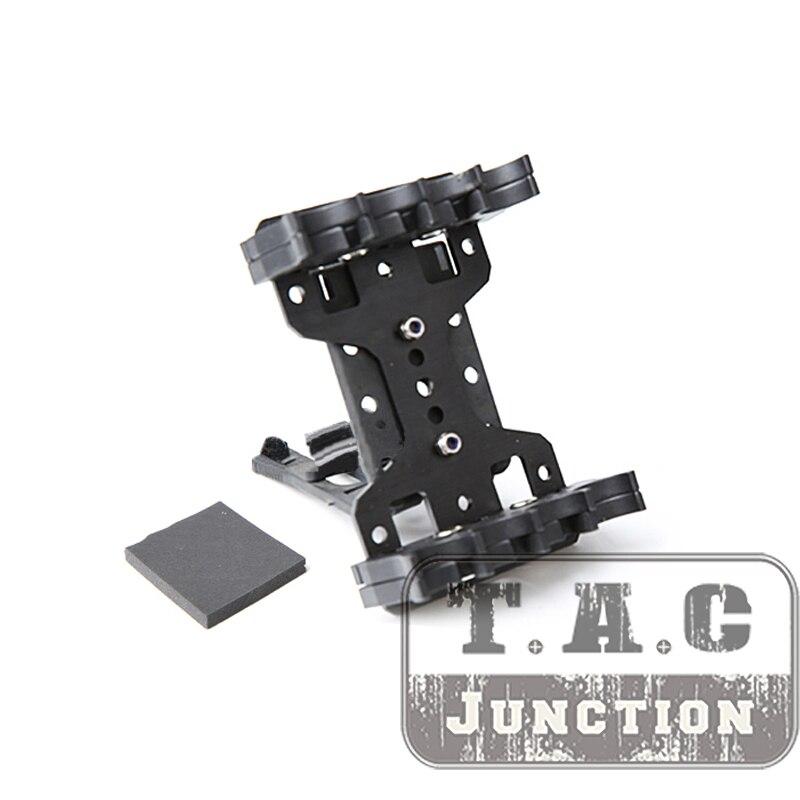 Para 12ga Tactical 8Q independiente Shot Shell cinturón portador práctico 360 rotación ajustable Shell Carrier para 2