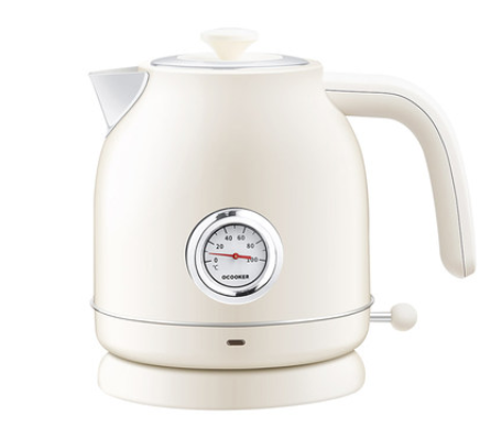 Electric kettle 1.7L Boiling Tea Pot Coffee Heater Temperature Control Meter Stainless Steel Quick Heating Hot Water Boiler