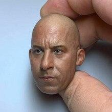 1/6 vin diesel macho esculpir cabeça estrela homem esculpido cabeça caber 12 figure figure figura de ação