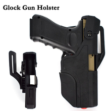 Glock Pistol Holster Accessories Hunting Airsoft Air Hand Gun Leg / Belt For 17 19 22 23 31 32 Right