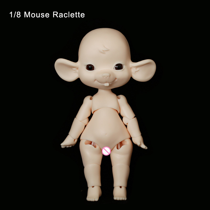Mouse Raclette 1/8 Oueneifs BJD SD Doll Body Model Baby Girls Boys High Quality Toys Shop Resin Figures